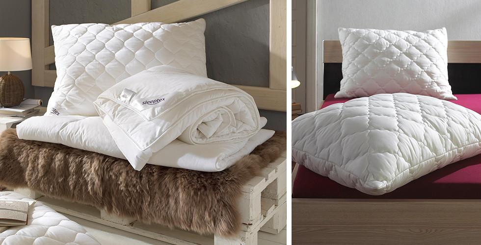 Sleeptex péřový polštář, bílý, v XXXLutz.