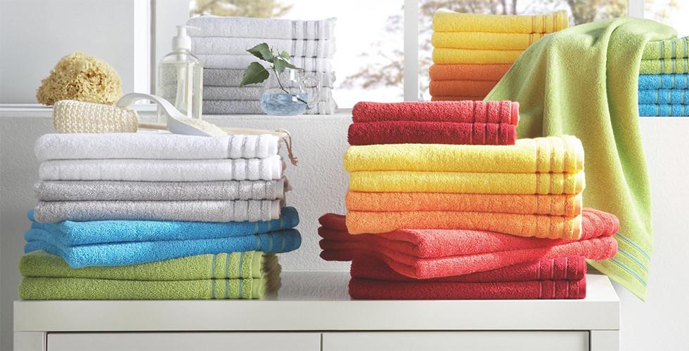 Handtücher bunt