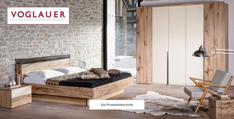 Voglauer Naturholzmöbel Schwarz Weiß Grau Braun Schlafzimmer