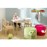Drveni stol i stolice za dječju igru