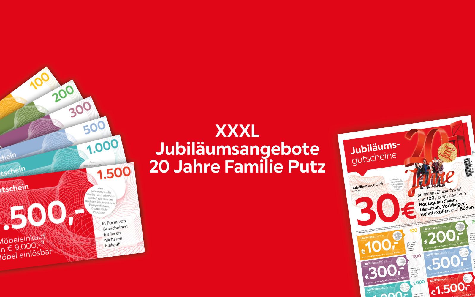 XXXL Jubiläumsangebote
