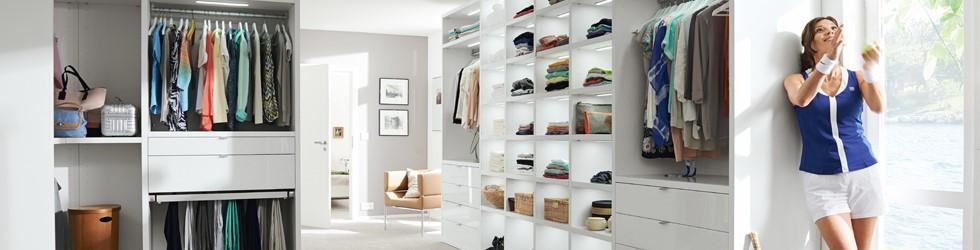 Begehbarer kleiderschrank luxus  Der begehbare Kleiderschrank: Luxus pur!