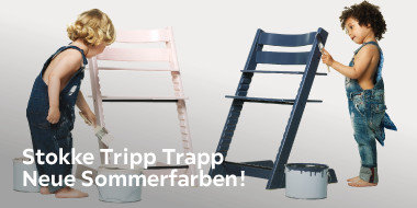 Stokke Tripp Trapp  Neue Sommerfarben!