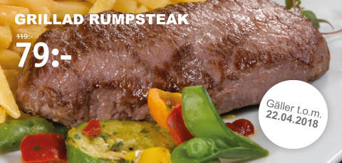Restaurang - Grillad Rumpsteak
