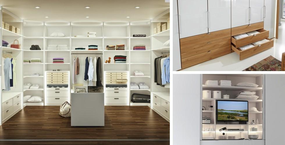 Vyberte si ze širokého sortimentu vnitřního vybavení šatních skříní.