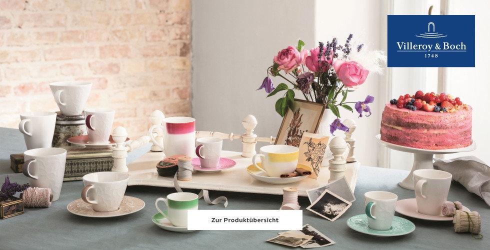 Villeroy und Boch Geschirr Frühling Torte Blumen