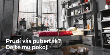 Pokoj pro puberťáka