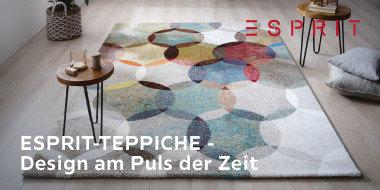 ESPRIT-TEPPICHE –Design am Puls der Zeit