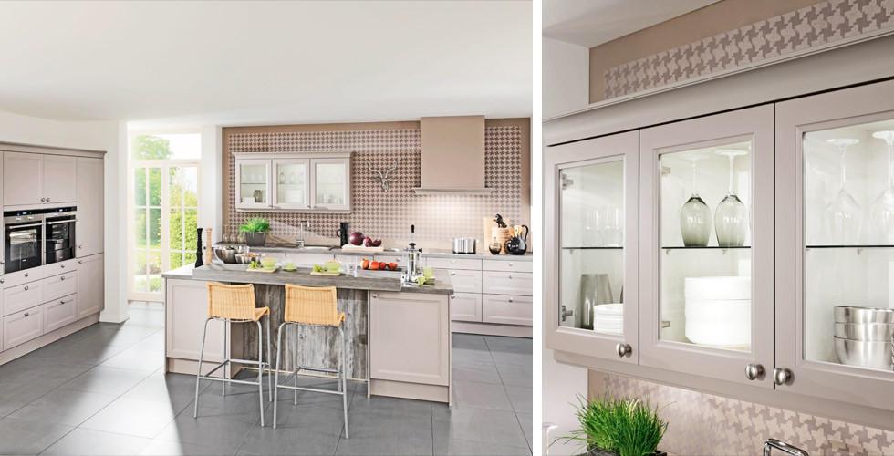 Küche In Landhausstil Und Matt