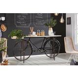 Atraktivan stol konzola u obliku bicikla