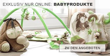 exklusiv nur online: Babyprodukte