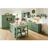 Zelena vintage kuhinja
