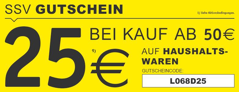 25€ Hausrabatt