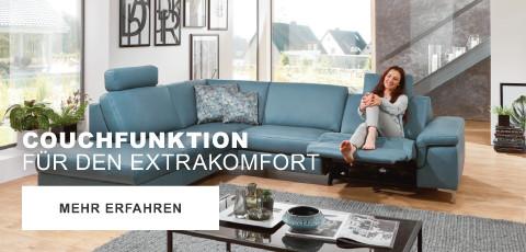 Couchfunktion für extra Komfort