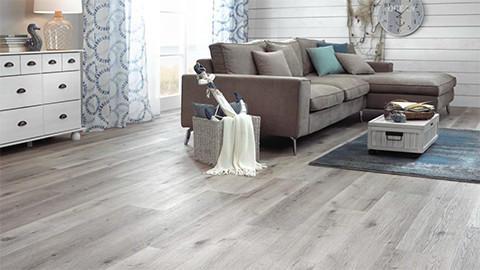 vinylová podlaha šedá
