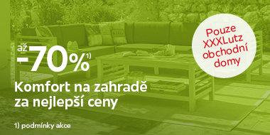 Výprodej zahradního nábytku