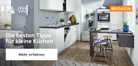 Die besten Tipps für kleine Küchen