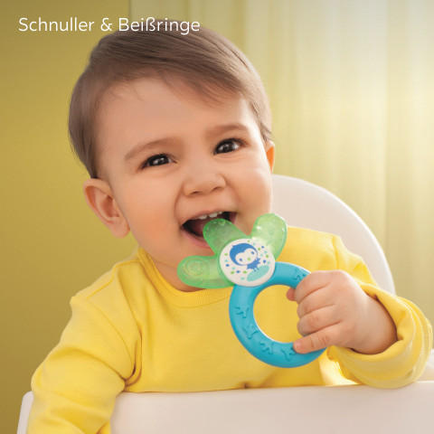 Mam Babyartikel Schnuller Beißringe Gelb