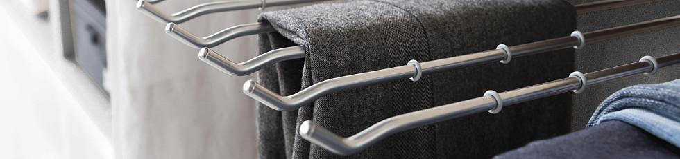 Hosenbügel für Kleiderschranksystem