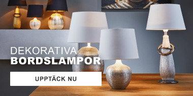 Dekorativa bordslampor