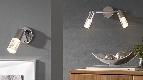 LED-Spots silber