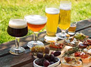 Komplet kozarcev za različne vrste piva