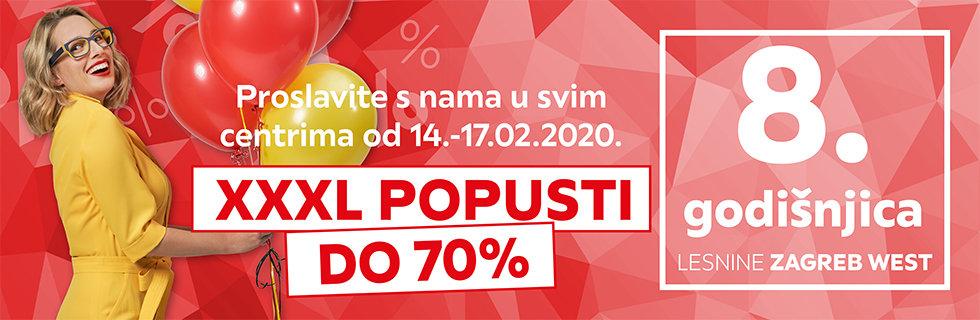 8. godišnjica Lesnine Zagreb west