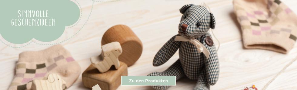 Sinnvolle Geschenkideen - Spielzeug liegt auf Boden
