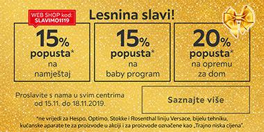 Lesnina Zadar slavi uz popuste