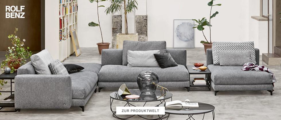 Rolf Benz Möbel entdecken
