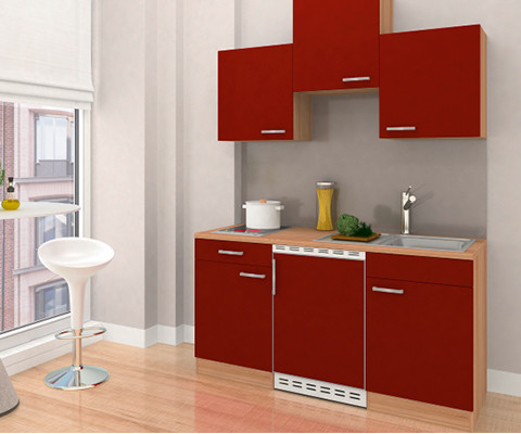 Studentenküchen Front Rot