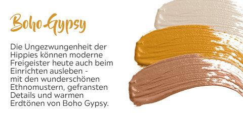 Ethnomuster Boho Gypsy Farbpalette