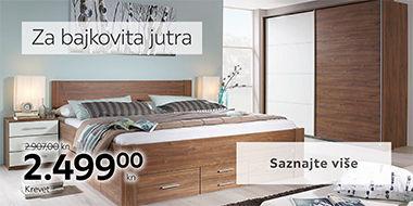 Moderan i elegantan krevet Lesnina XXXL