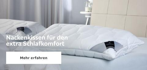 Nackenkissen fuer den extra Schlafkomfort