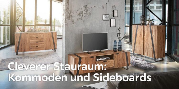 Cleverer Stauraum: Kommoden und Sideboards