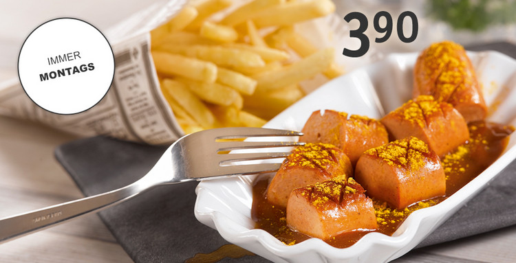 Currywurst immer Montags