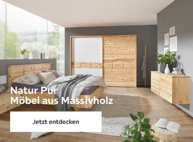 Natur Pur Möbel aus Massivholz Schlafzimmer aus Zirbenholz