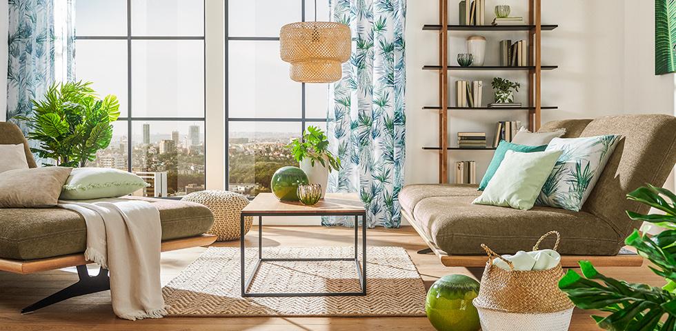 Green Living Wohnzimmer