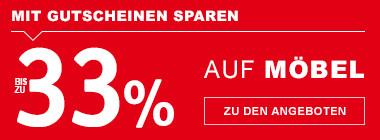 bis zu 33% sparen