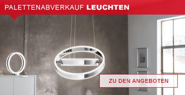 Palettenabverkauf Leuchten