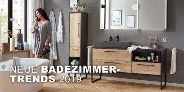 Neue Badezimmertrends 2019