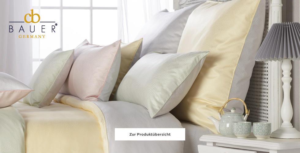 Curt Bauer Bettwäsche pastellfarben