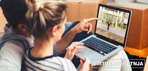 virtualna šetnja Lesnina trgovinom