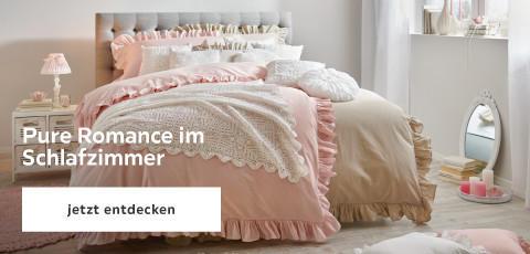 Pure Romance im Schlafzimmer