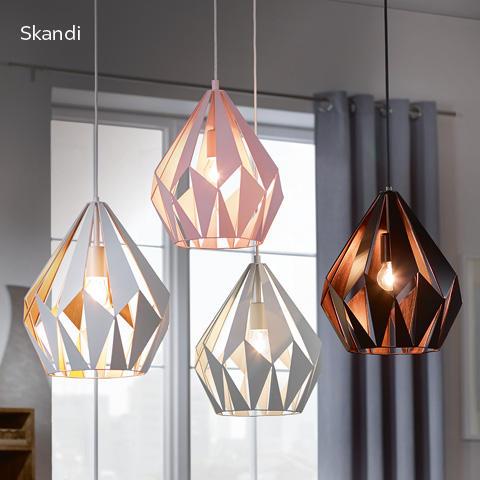 Leuchten im Skandi-Stil - skandinavischer Flair