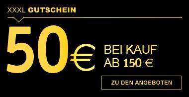 Gutschein 50€ ab Kauf von 150€