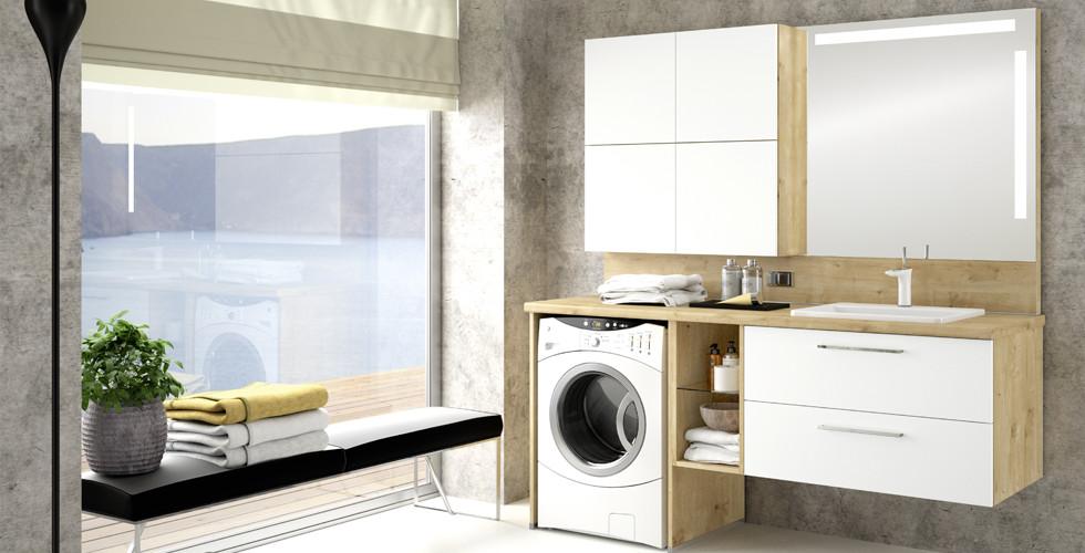 Waschmaschine verstecken