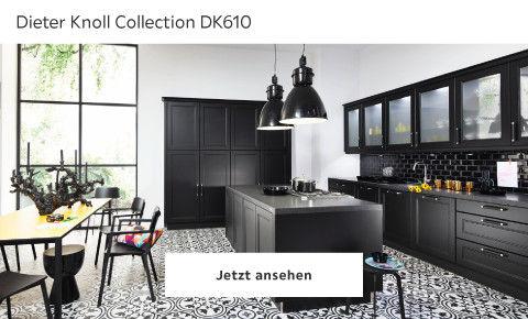 Dieter Knoll Landhausküche schwarz