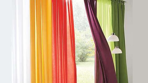 Gotove zavjese šarenih boja
