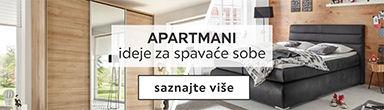 Apartmani - ideje za spavace sobe